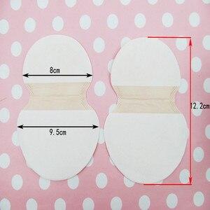 5 حزمة = 10 قطعة المتاح الإبط امتصاص العرق منصات مزيل العرق الإبط مكافحة العرق رائحة للجنسين درع الشريط ملصقات #704