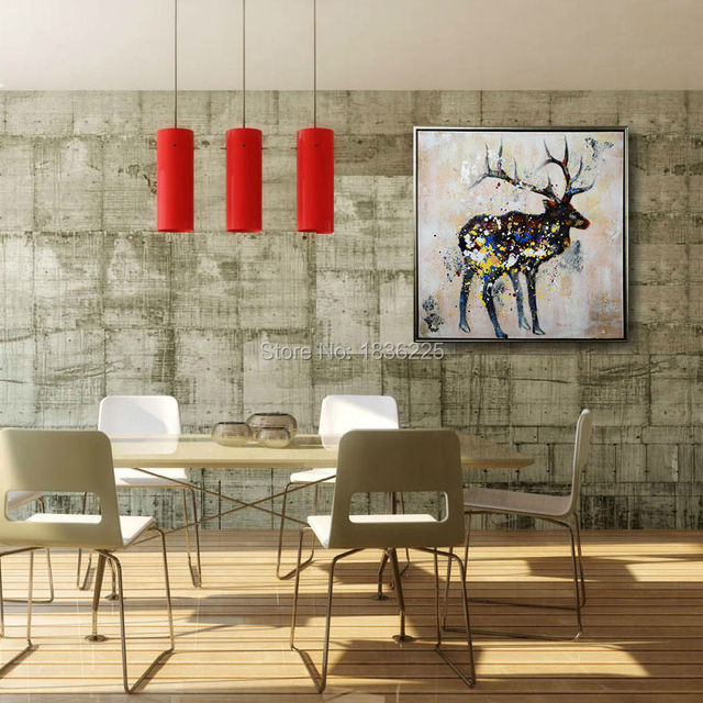 Wholesale Stretched Canvas Sheep Paintings On Canvas Cheap