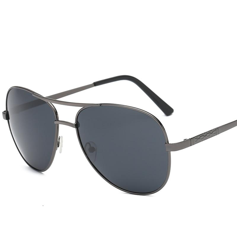 Lunettes de Soleil polarisées UV400 Pilote Yourte Lunettes de Soleil Hommes Polaroid Marque Conception Conduite lunettes de Soleil pour Hommes Lunettes Oculos De Sol