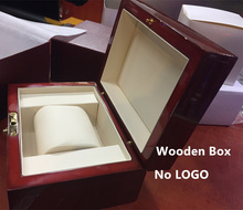 Top Quanlity Wood Watch Box Fashion Red Brand Watch Boxes  New Watch Gift Box P029