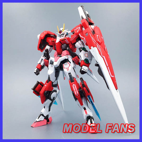 MODEL FANS IN-STOCK metalclub Metalgearmodels metal build MB Gundam OO seven sword 7s red color high quality action figure model fans in stock metalgearmodels metal build mb gundam oo raiser oor trans am system color action figure