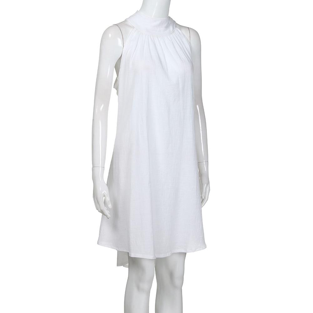 HTB1aHutavjsK1Rjy1Xaq6zispXaA Womens Holiday Irregular Dress Ladies Summer Beach Sleeveless Party Dress vestidos verano 2018 New Arrival dresses for women
