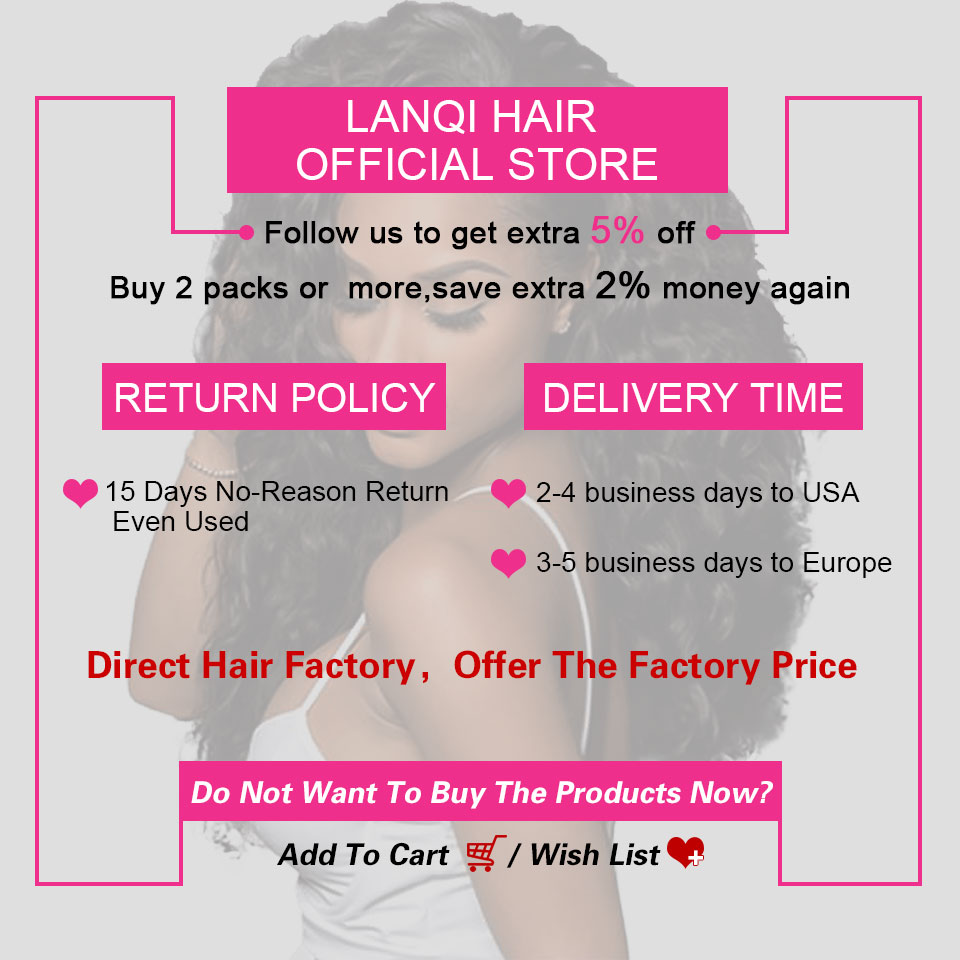 Malaysian Straight Hair Bundles With Lace Closure LanQi Non Remy Hair Weaving 3 Bundles Human Hair Weave Bundles With Closure