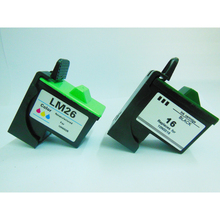 For Lexmark 16 26 Ink Cartridge for Lexmark I3 Z13 Z23 Z25 Z35 Z515 Z517 Z615 X1100 X1150 X2250 X75 X1200 X1290 Z612 Z614 Z615
