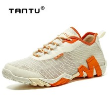 Tantu Brand New Mesh Outdoor Shoes Breathable Rubber Out-sole Camping Hiking Non-slip Men Walking Sneakers