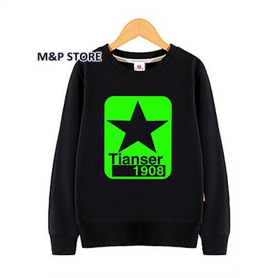 Kids Pullover Noctilucent luminous light 3d print hoodie sweatshirt hip hop spiderman bat man super basketball spring black tops (8)