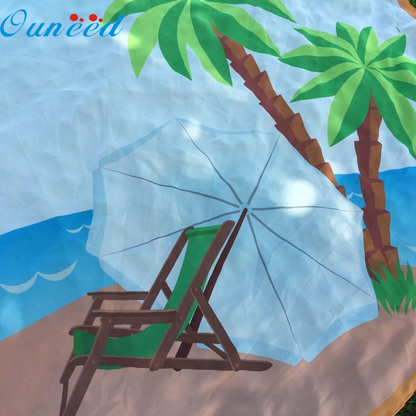 JA 12 Mosunx Business Hot Selling Fast Shipping Round Beach Pool Home Shower Towel Blanket Table Cloth Beach Cover Up Bikini
