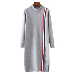 Turtleneck font b oversized b font sweater long knitted dress 2016 autumn winter fashion women sweaters.jpg 250x250