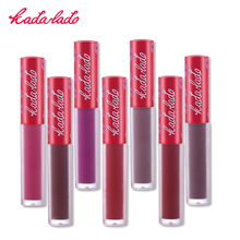 KADALADO Hot Brand Waterproof Lipstick Long Lasting Liquid Matte Lipstick Pen Lip Gloss Lip Cosmetics Makeup For Women 24 Colors