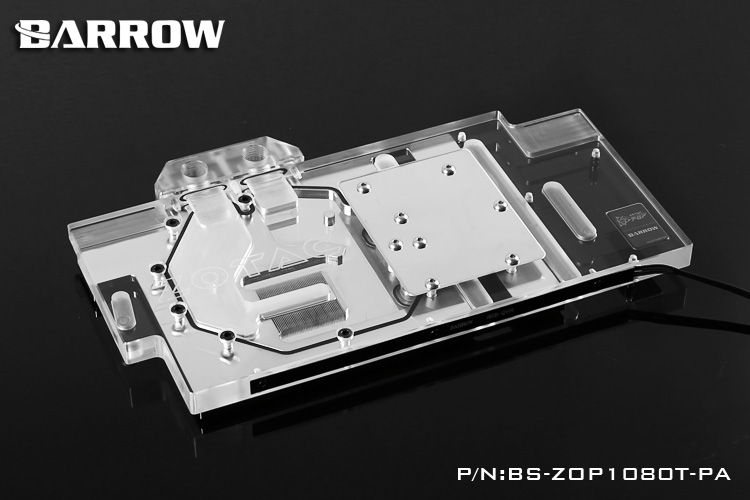 Barrow BS-ZOP1080T-PA Water Cooling Block for Zotac PGF GTX1080TI/1080/1070 цена