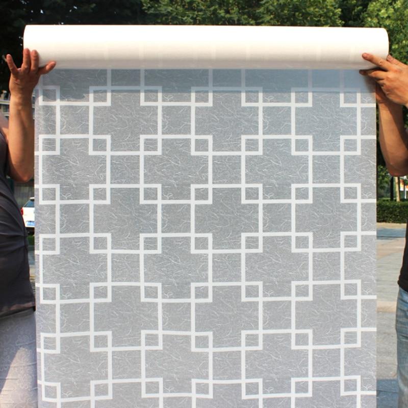 80cm wide * 300cm терезе қабыршағыш шыны шыны - Үйдің декоры - фото 2
