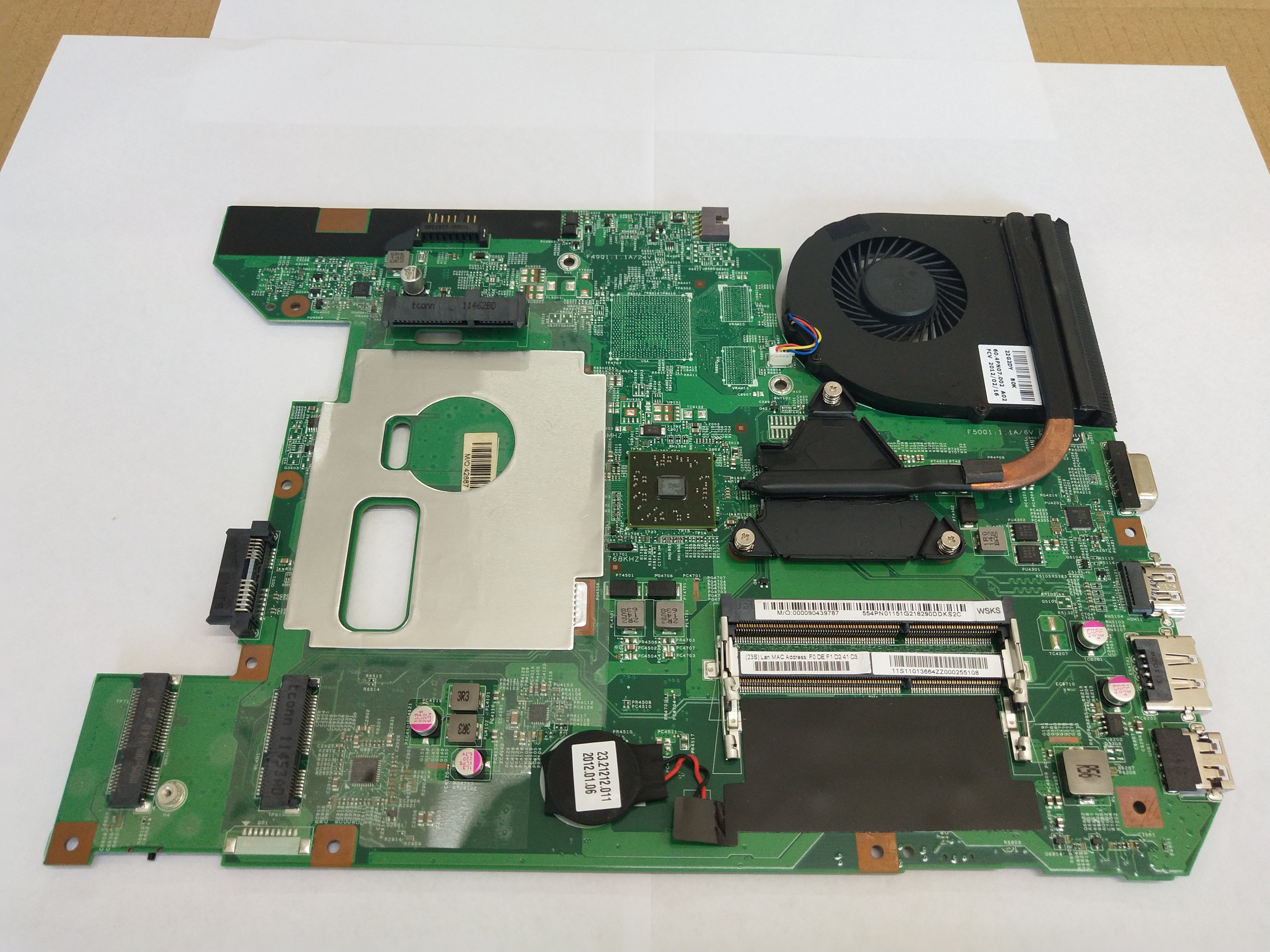 48.4PN01.011 For <font><b>Lenovo</b></font> B575 B575E B570 <font><b>B570E</b></font> Laptop <font><b>motherboard</b></font> with AMD E-450 cpu image