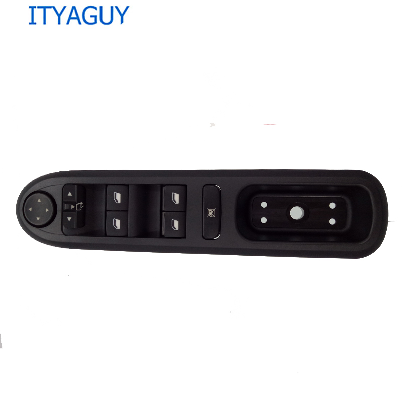 Front Left Side Power Electric Window Lifter Switch Panel For Peugeot 407 SW 6554.ER 96468704XT 6554ER 6554 ER 2004-2010