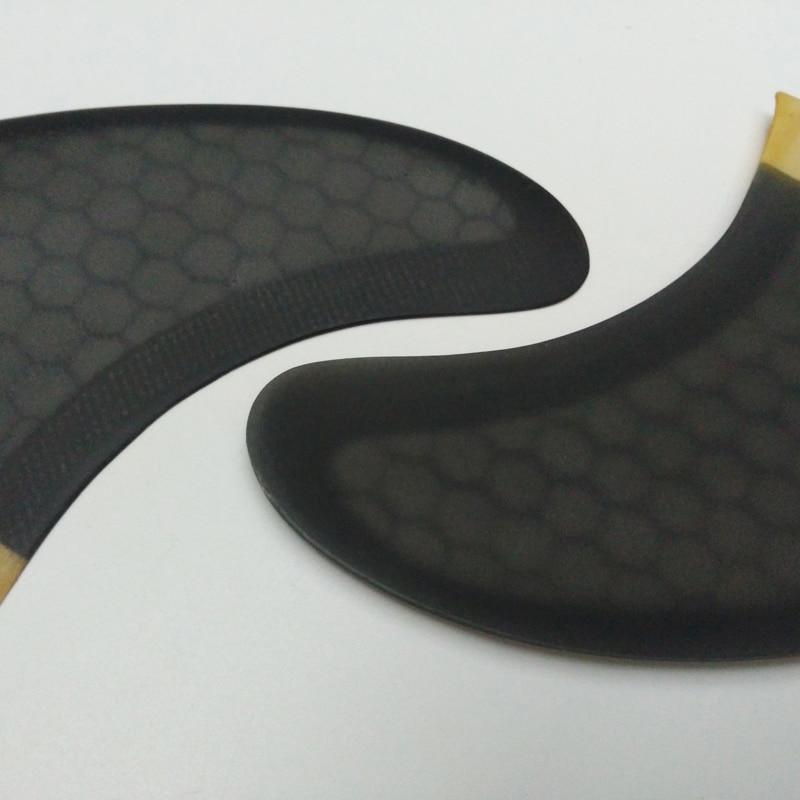 SUP Surfboard FCS-Quad-Fins G5 + GX Quilhas մեղրամոմ + - Ջրային մարզաձեւեր - Լուսանկար 3