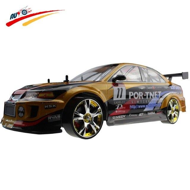 Большой RC Автомобилей 1:10 Высокоскоростной Гоночный Автомобиль Для Mitsubishi Чемпионат 2.4 Г 4WD Управления По Радио Спорт Дрифт Гонки электронные игрушка