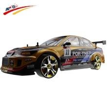 Large RC Car 1 10 High Speed Racing Car For Mitsubishi Championship 2 4G 4WD Radio