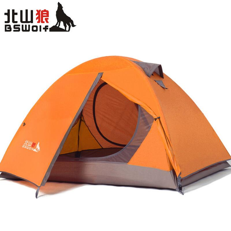 Ultralight Outdoor Camping Tent 1-2 person hunting tent fishing Rainproof Windproof waterproof tourist Tents Walking and hiking цена 2017