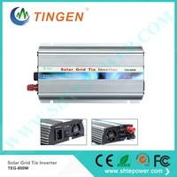 Free Shipping 800W inverter 12V/24V DC input AC output 90 130V 190 260V Grid tie Solar power invertor Solar panels system