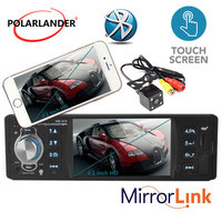 new 4.1'' inch HD Touch TFT screen Car radio player MP3 MP4 MP5 Support Rear view Camera Audio video RDS/FM/USB/TF/12V