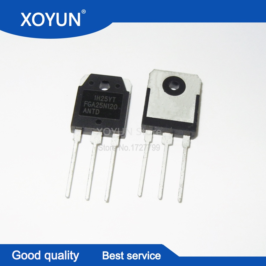 5PCS/lot FGA25N120ANTD FGA25N120 25N120 TO-3P