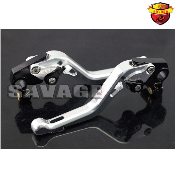 For GILERA GP 800 GP800 2007-2009 Motorcycle Accessories CNC Aluminum Short Brake Clutch Levers Silver for gilera gp 800 2007 2009 motorcycle accessories cnc aluminum folding extendable brake clutch levers black