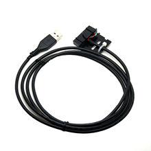 PMKN4010B USB Programming CableสำหรับMOTOROLA XPR4300 XPR5550 XPR8300 DGM6100 DGR6175 DM4401 DM3601 DR3000 XiR M8620 M8220 M8668
