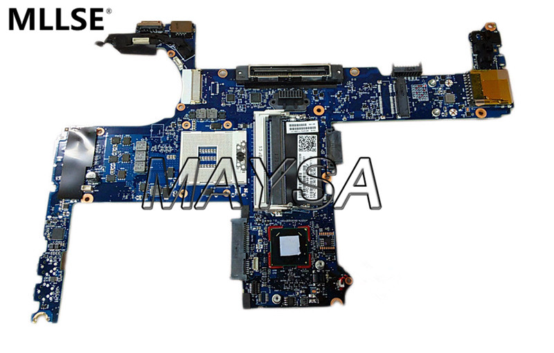 710658-001 laptop motherboard fit for HP Elitebook 8470W 8470P Series Notebook PC Main Board  HM76 PGA989 DDR3 100% Fully Tested  цена и фото