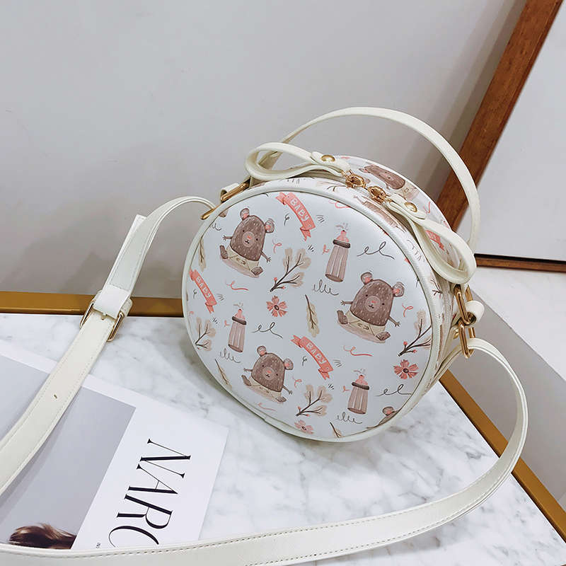 fire bag new cute little bag female bag Korean version small fresh mini small round bag female single shoulder bag