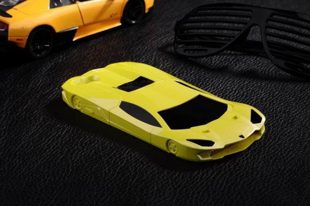 Lamborghini Racing Car iPhone Case