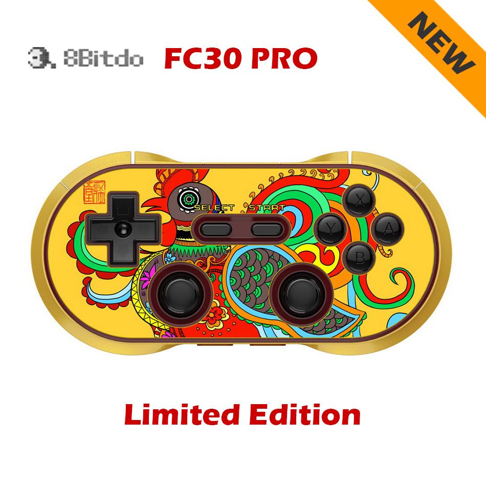 Prix pour 8 8BITDO FC30 PRO Édition Limitée Sans Fil Bluetooth Contrôleur snes Gamepad Double Classique sega pour iOS Android Windows PK ps4