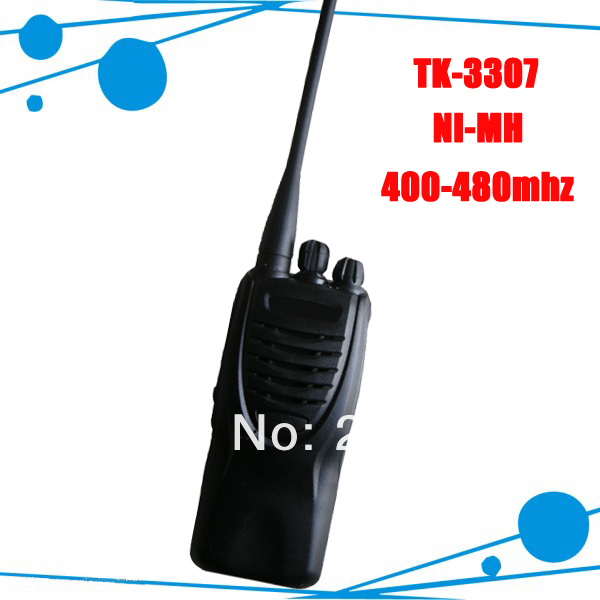 Walkie Talkie TK-3307 UHF TK3307 400-480MHz professional radio tk3307 two way radio xiaomi mjdjj01fy bluetooth 4 0 radio two way walkie talkie white