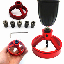 FGHGF 6//7/8/9/10mm Fast Woodwork Joinery System Kit Vertical Hole Jig Drilling Guide
