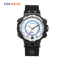 FOXWEAR FOX8 Driving Sports Smart Camera Watch With LED Light Compass 720P HD Car Digital Video Recorder Recording Wristwatch