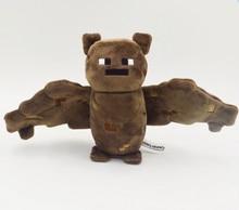 Minecraft Plush Toys MC high quality Stuffed Plush Dolls Minecraft brown Bat Animal Cartoon Game toys