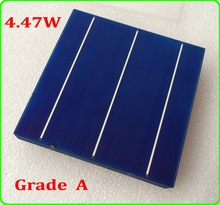50pcs High Efficiency 4 47W Poly Solar Cell Enough Soldering Wire 1pc flux pen as Gifts