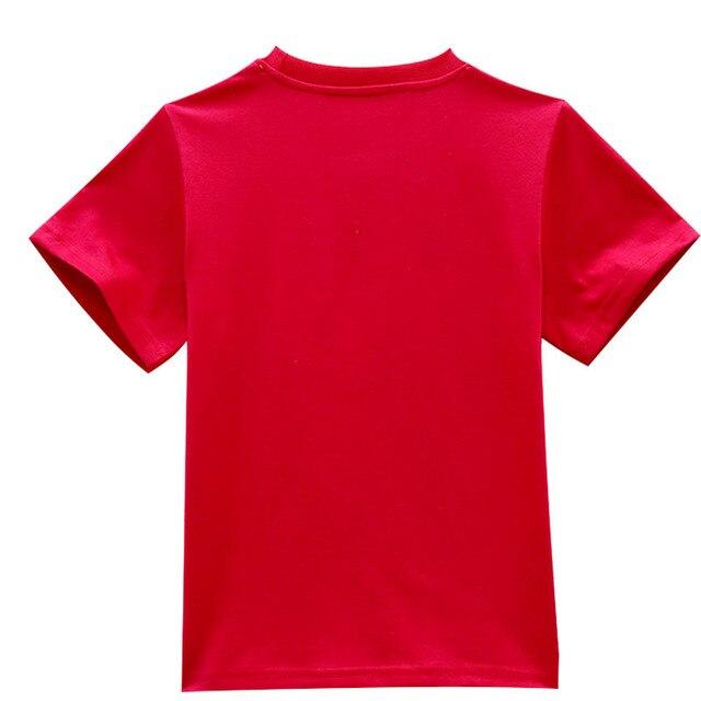 New 2018 children Ninja t shirts Popular Hero Print Kids Baby Boy Tops Short Sleeve T-Shirt Summer Girls Tees Fornit shirts 1