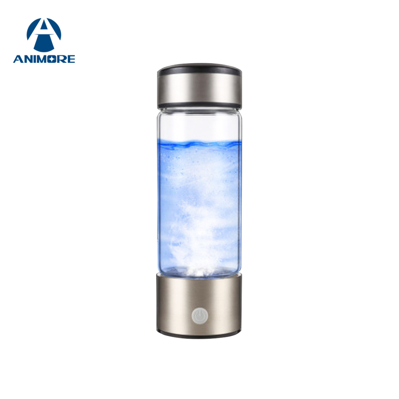 ANIMORE Portable Rich Hydrogen Water Bottle USB Rechargeable Rich Hydrogen Water Generator Electrolysis Water Ionizer RHW-01 new arrival hydrogen generator hydrogen rich water machine hydrogen generating maker water filters ionizer 2 0l 100 240v 5w hot