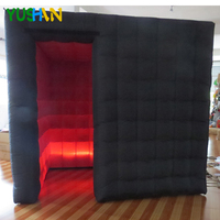 Props Inflatable photo booth LED wedding photo booth Enclosure wholesale rental portable photo booth machine For party Weddings