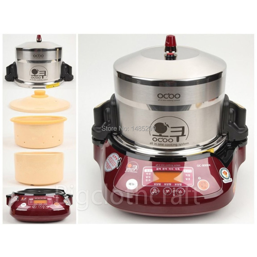 2017 Ocoo Oc 2000r Ginseng Cooking Machine Slow Cooker Steam Oven All In One Ems Free Shipping Service Ovens From Home Liances On Aliexpress