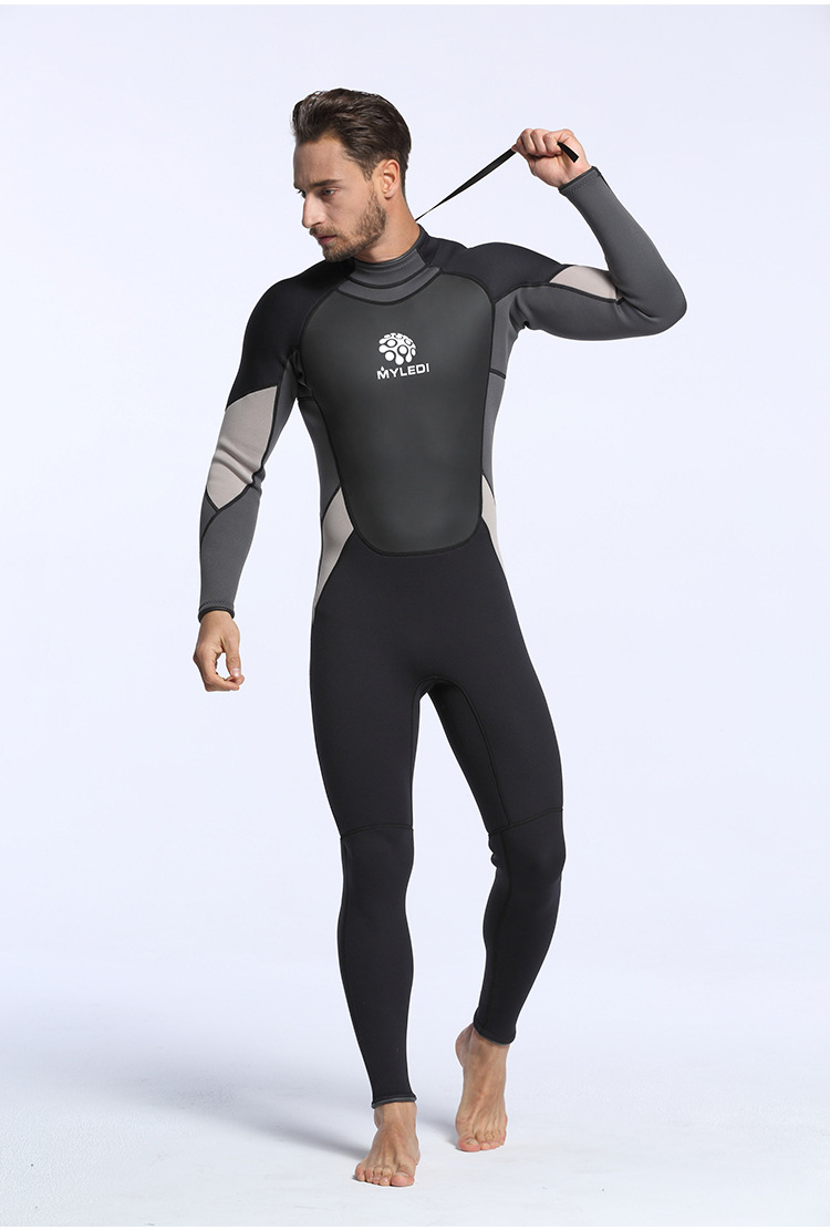 cbd6cd8ead Detail Feedback Questions about Diving Wetsuit Men 3mm Diving Suit ...