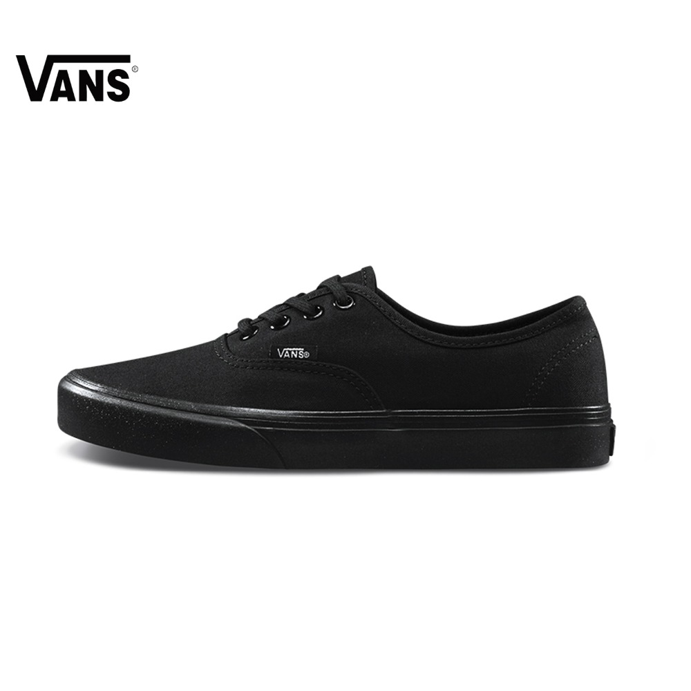 Original Spring New Vans Low-Top Women Shoes Skateboarding Sport Shoes Solid Color Wild Shoes Classic Style alluring low cut spaghetti strap solid color tank top for women