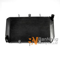 Motorcycle aluminum Water Tank Radiator Cooler Cooling Replacement For KAWASAKI Z1000 2007 2009 Z750 2007 2010 Z800 2013 14 2015