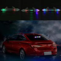 VODOOL Car Auto Lámpara de Luces de Energía Solar 46 LED del Flash del Estroboscópico Advertencia con Lechón Car Styling Accesorios de Alta Calidad