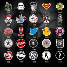doll Accessories 100 PCS Classic Fashion Style car suitcase cool laptop skateboard waterproof Graffiti Stickers for motorcycle(China)