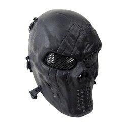 Outdoor cs go field operation skull airsoft shocker masks with metal mesh eye protective visor full.jpg 250x250