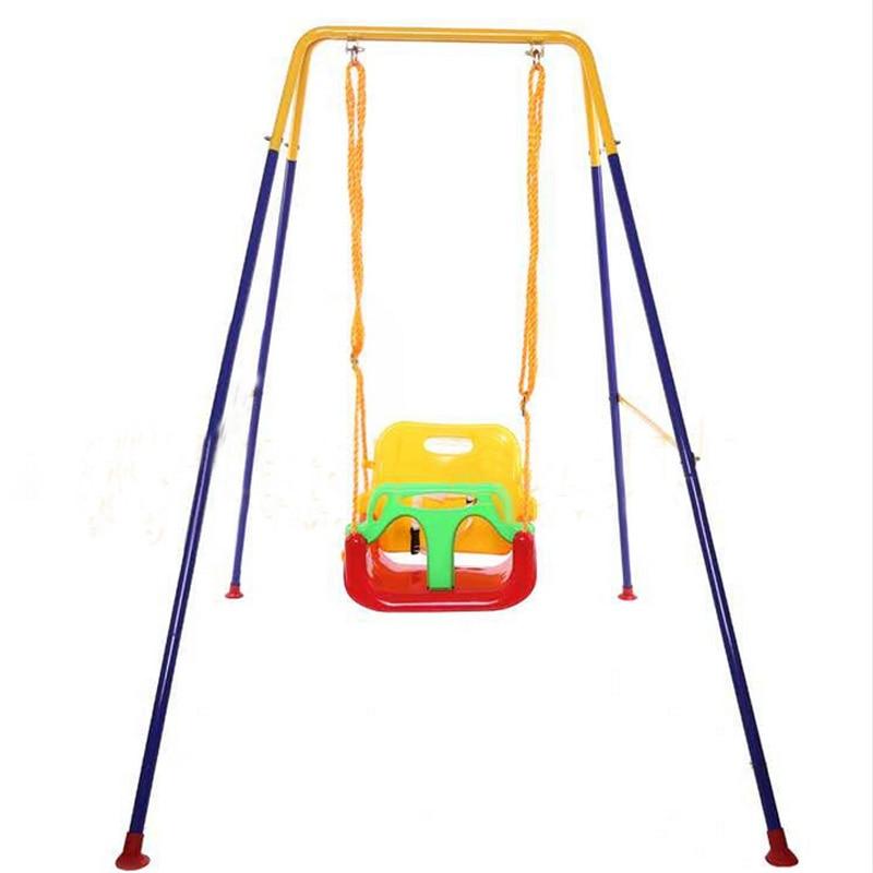 Baby swing high chair popular indoor toddler swings buy for Baby garden swing amazon