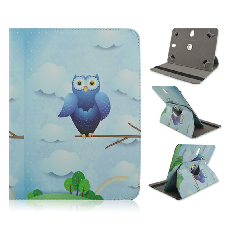 360 Rotating Leather Case For New Kobo Clara HD 6 Inch Ebook Cover Ereader Skin Shell 6-7 Inch Universal Covers