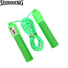 Jump Ropes With Counter Sports Fitness Crossfit Adjustable Fast Speed Counting Skip Rope Skipping Wire Calories 5021