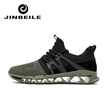 New 2018 Summer men Breathable sports shoes outdoor grey black red Athletic Laces light prestoo running shoes for male sneaker man running shoes black red white sports shoes for male spring summer athletic footwear male breathable light sneakers running