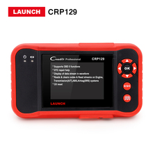 Sale Launch X431 Creader professional CRP129 launch CRP 129 ENG/AT/ABS/SRS EPB SAS Oil Service Light resets Code Scanner DHL free